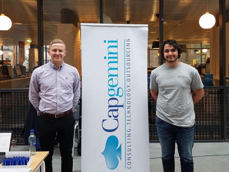 Vellykket bedriftspresentasjon med Capgemini!